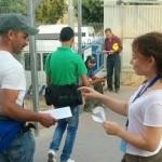 זכויות אדם כחולבן פעילות