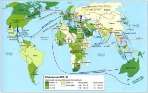 מפת הגירה